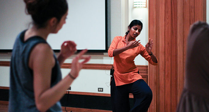 Professor shares passion for classical Indian dance