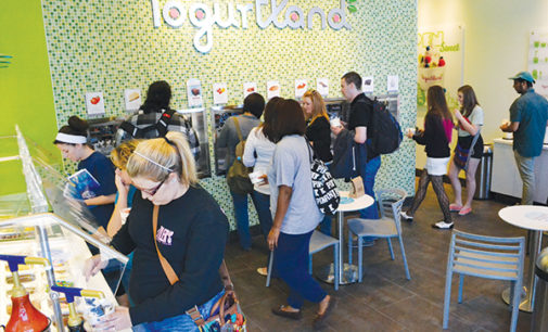 Yogurt store moves in to Fry Street