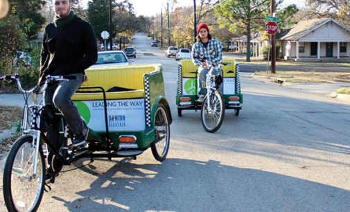 Day in the life…of a Denton pedicab driver
