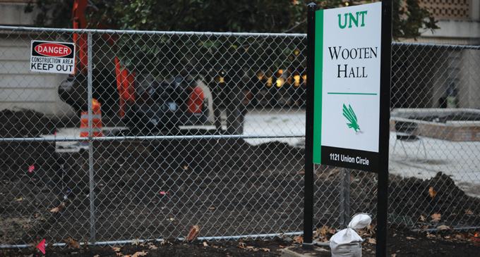 Construction projects continue throughout campus