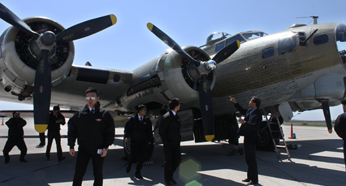 Tour showcases World War II, Vietnam planes