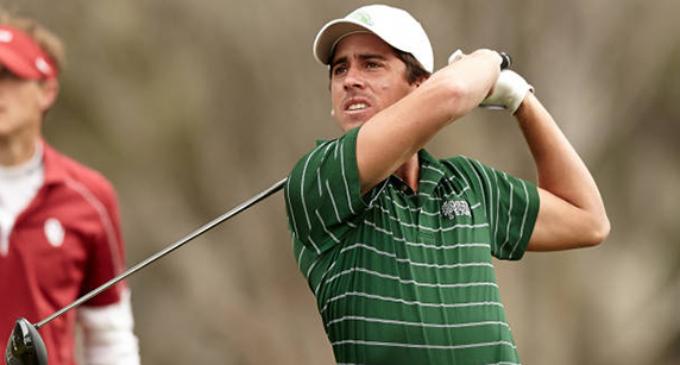 UNT golfer's tourney run halted