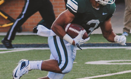 Mean Green football opens season with 40-6 victory