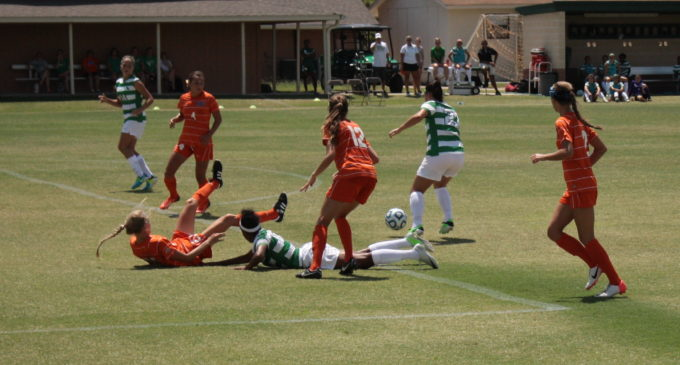 UNT Soccer Takes First Two Games Over Weekend