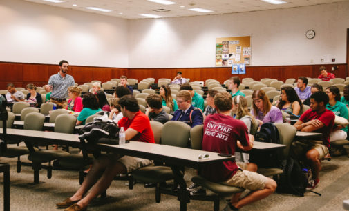 SGA discusses structure changes in first semester meeting