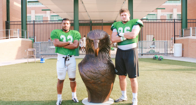 High school teammates join forces at UNT