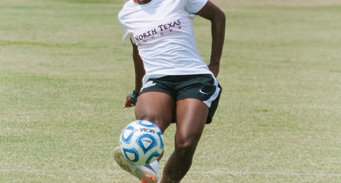 Mean Green soccer team loses physical match at home