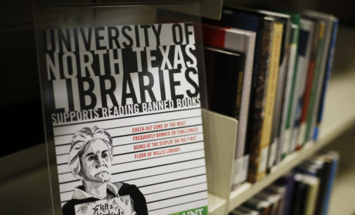 UNT holds banned books read-out event