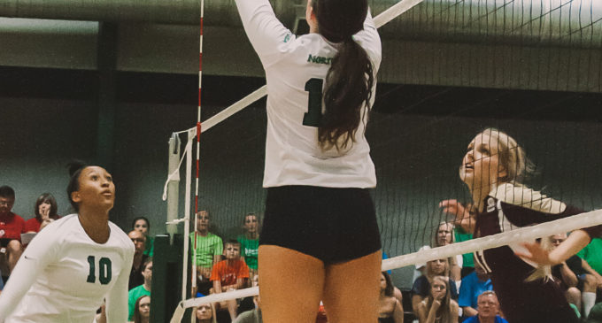 UNT volleyball goes 3-1 in North Texas Invitational
