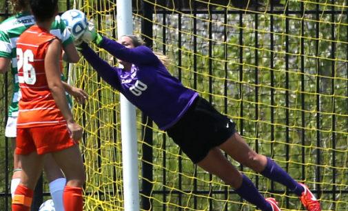 Brief: Soccer goalkeeper Jackie Kerestine out for season