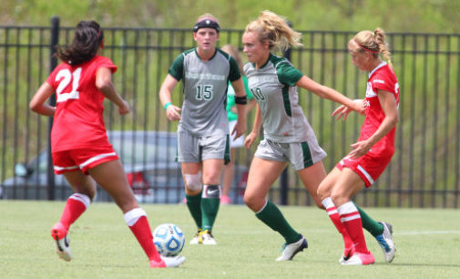 Mean Green soccer suffers two close losses over weekend