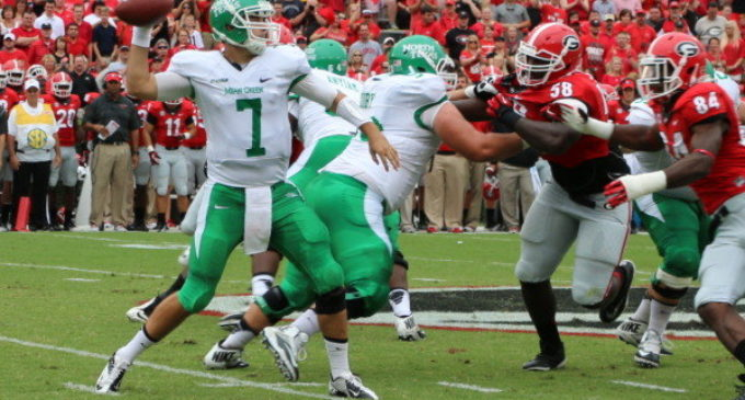 Special teams helps UNT give No. 9 Georgia a scare