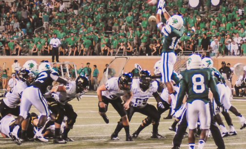 UNT football deploys full roster during games