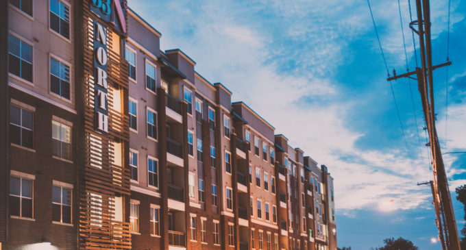 Unfinished business at new apartment complex