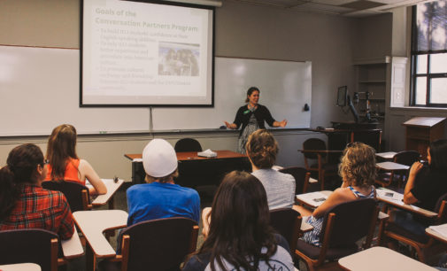 International and English-speaking students teach each other in UNT program