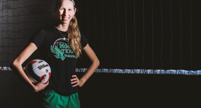 Sister helps drive volleyball senior to success