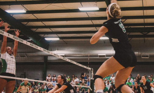 Upcoming road games key for Mean Green volleyball's goals