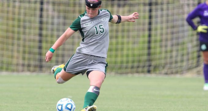 Mean Green soccer and volleyball captains work behind the scenes