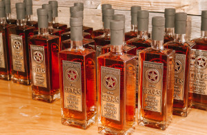 Witherspoon's Texas straight bourbon whiskey. It is 50 percent alcohol by volume and 100 proof. Photo by Edward Balusek / Staff Photographer