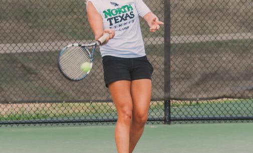 Tennis team stays sharp year round