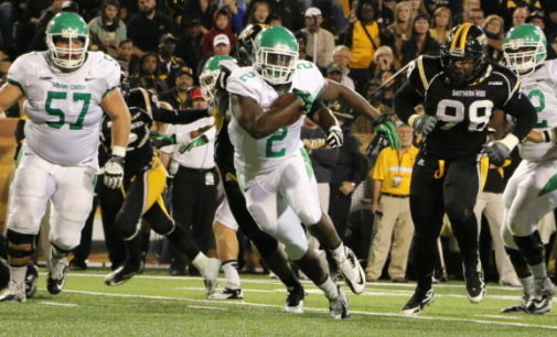 UNT football smashes Southern Miss 55-14