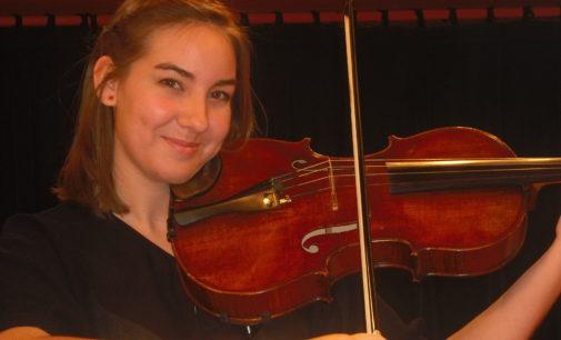 Violist to perform at Voertman Hall recital