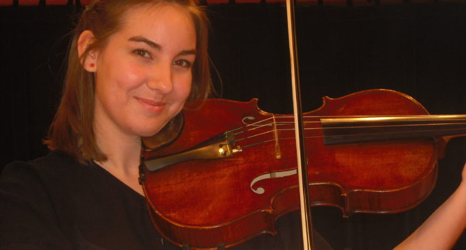 Violist to perform at Voertman Hall recital