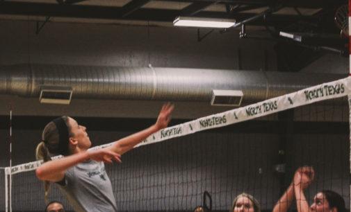 UNT volleyball team anticipates weekend home games