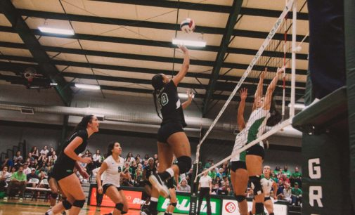 UNT volleyball and soccer teams make their mark in record books