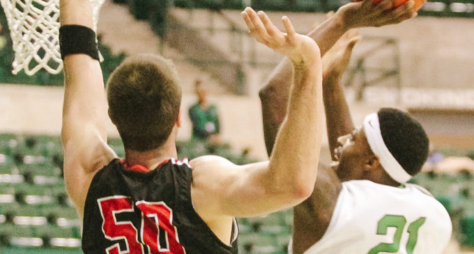 Huge first half guides UNT men's basketball to victory