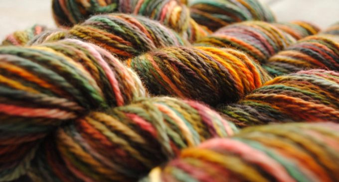 UNT fiber arts graduate spins a colorful yarn