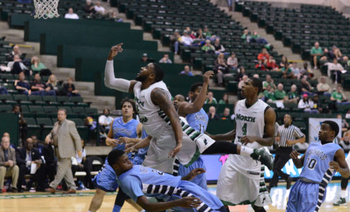 Men's basketball team survives season opening scare, win 72-67