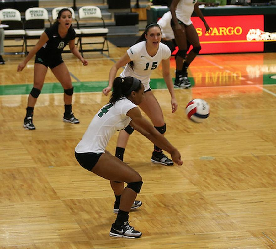 Mean Green volleyball prepares for final regular season ...