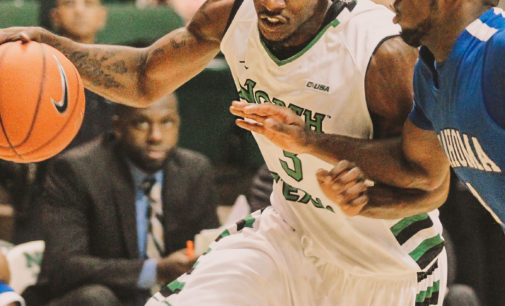 Exhibition game provides UNT men's basketball with season's first win