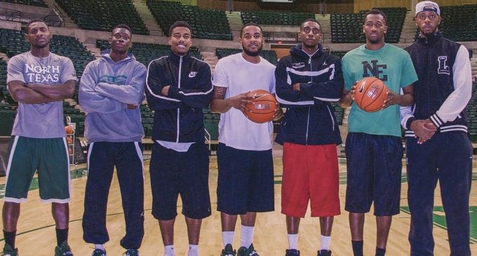 Mean Green men's basketball works around height disparity
