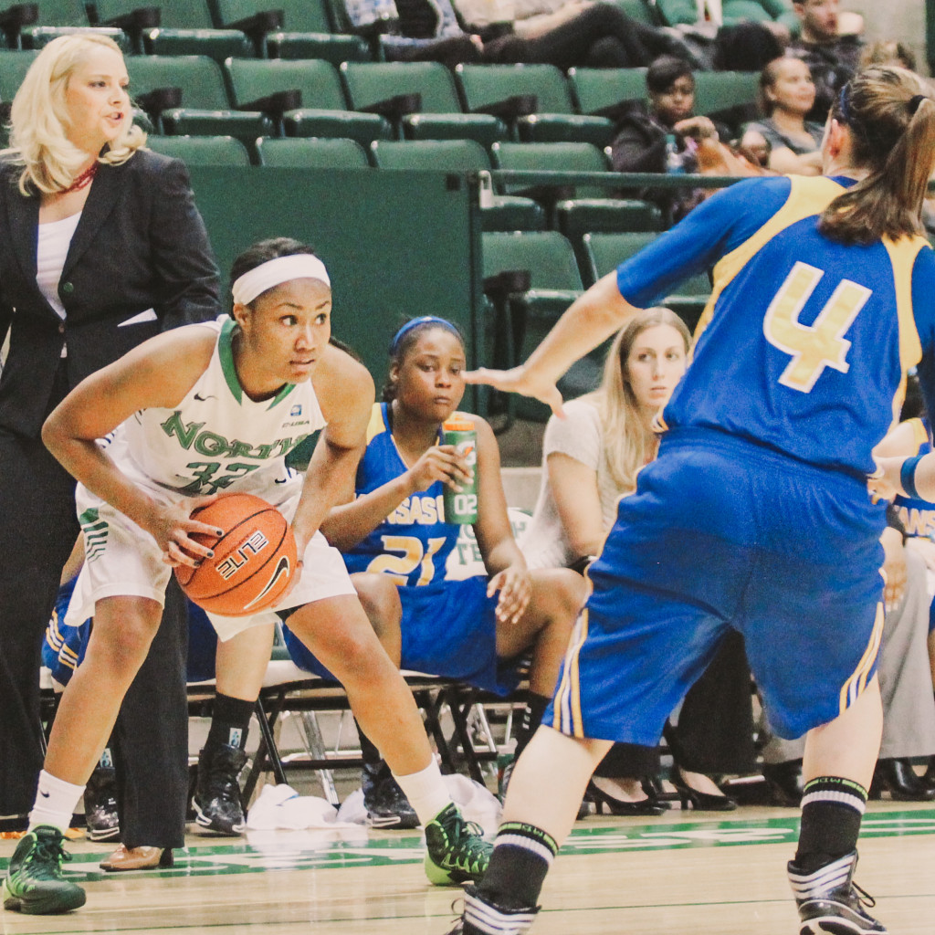 UNT women's basketball team falls short against Texas A&M ...