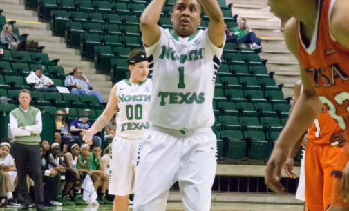 Mean Green women's basketball holds off FIU for second conference win