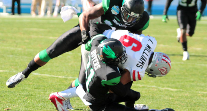 Mean Green football knocks off rust in spring practice