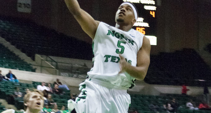 Mean Green men's basketball team cools down visiting Blazers