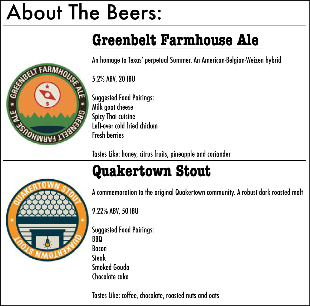 Beer information courtesy of Armadillo Aleworks. Graphic by Nicole Arnold / Visuals Editor