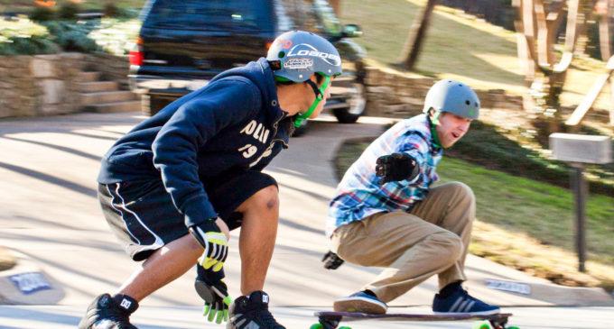 Longboarders spread word of club to help skaters