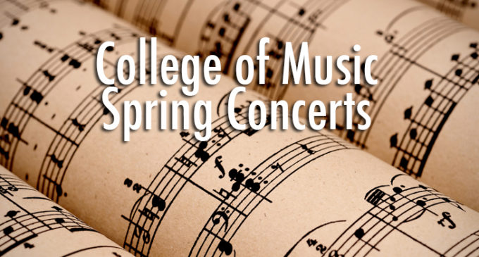 College of Music to host more than 600 concerts in spring semester