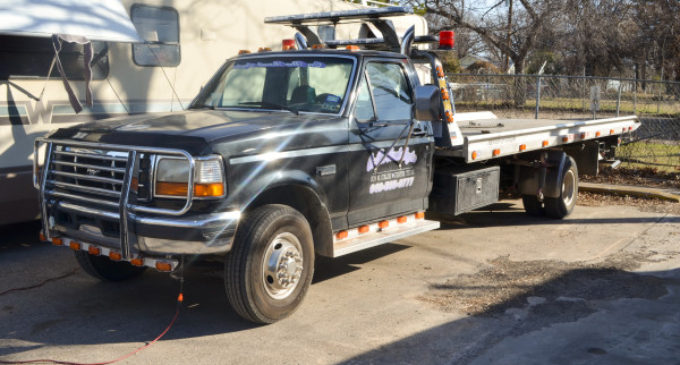 """Denton """"wreckers"""" troll parking lots and streets"""
