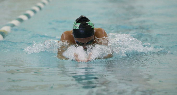 Mean Green swimming and diving team unable to catch SMU