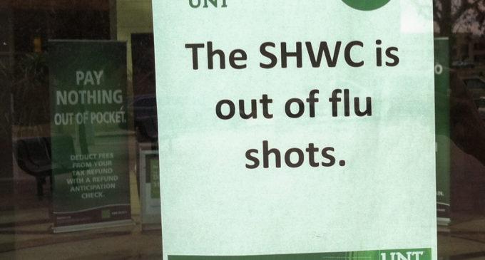 Denton County sees more flu activity, shortage of shots