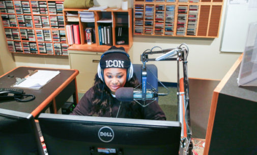 Students earn experience at campus radio station