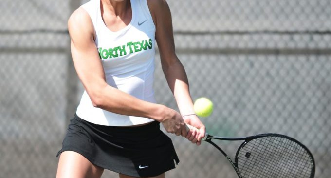 Brief: Mean Green tennis clinches victory in home opener