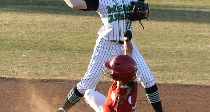 Mean Green softball wins both games in home-opening double-header