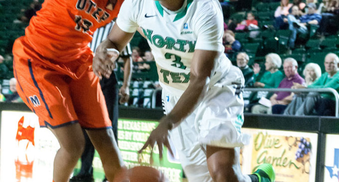 Freshman Jeter stands out in Mean Green women's basketball win against UTEP