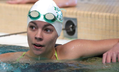 No. 2-ranked Texas A&M takes down Mean Green swimming team
